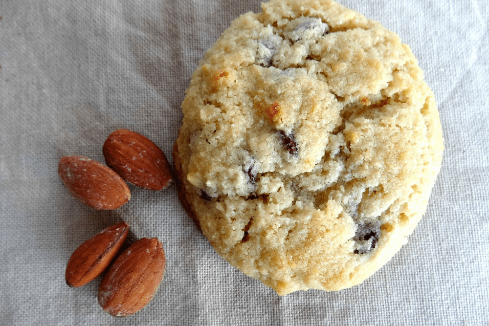 Monk Fruit Sweetened Gluten-Free Chocolate Chip Almond Flour Cookies